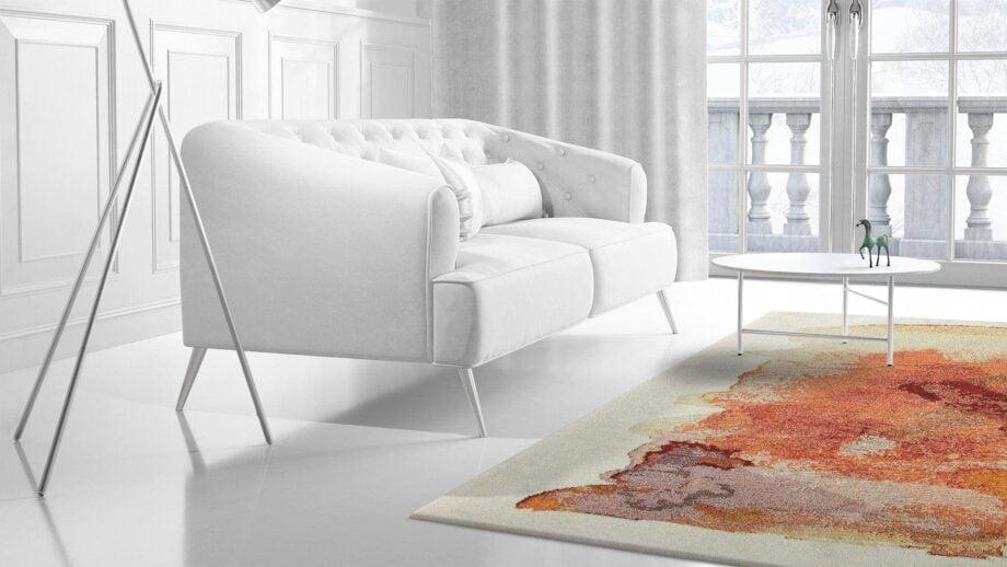 Mae Artisan Rugs | Art Nichi Botsu 40125 3.58 x 2.56m 2.5m X 3.5m Mae Rugs Template Side View 2