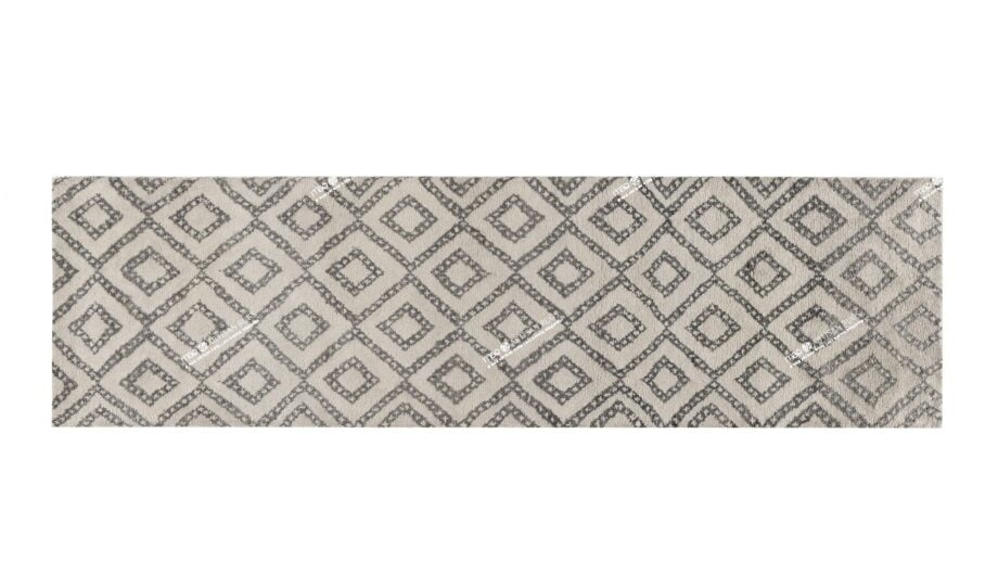 Mae Artisan Rugs | 1105 Berber Diamond 3m x 0.85 Runner 3m X 0.85m Mae Rugs Template Top View Recovered