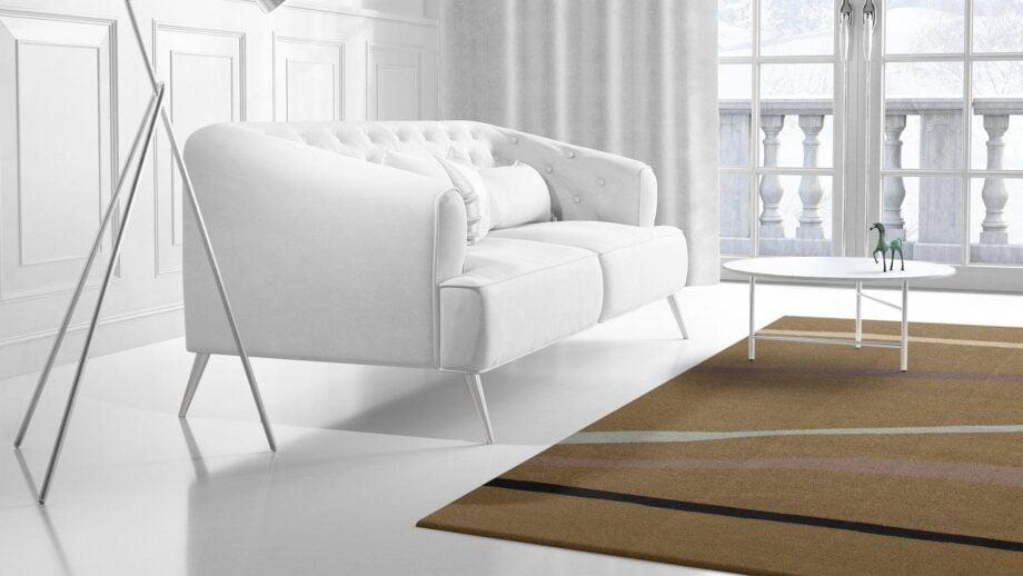 Mae Artisan Rugs | Contemporary Drawn Lines Kelim 11105 1.80 x 2.80 Rectangular 2m X 3m Mae Rugs Template Side View 2