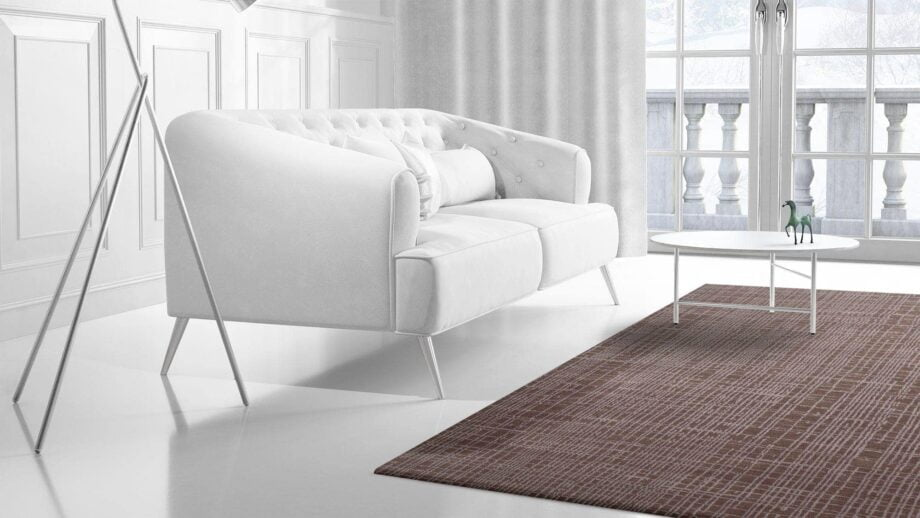Mae Artisan Rugs | Contemporary Jaggered Lines Tibetan 1056 1.85 x 2.84 Rectangular 2m X 3m Mae Rugs Template Side View 2