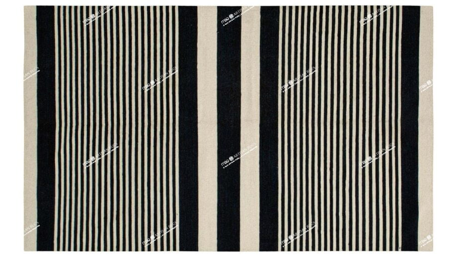 Mae Artisan Rugs | Contemporary Lines Kelim 1291 1.85 x 2.80 Rectangular 2m X 3m Mae Rugs Template Top View