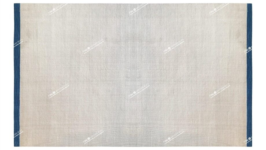 Mae Artisan Rugs | Contemporary Plain With Border Kelim D90022 1.85 x 2.80 Rectangular 2m X 3m Mae Rugs Template Top View