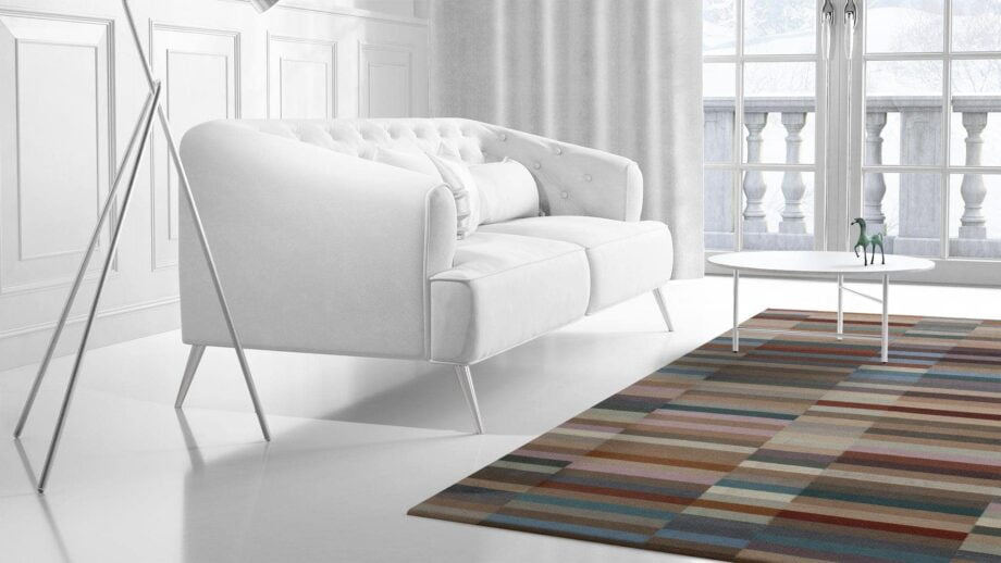 Mae Artisan Rugs | Contemporary The 32 Kelim 1461 2.00 x 3.00 Rectangular 2m X 3m Mae Rugs Template Side View 2