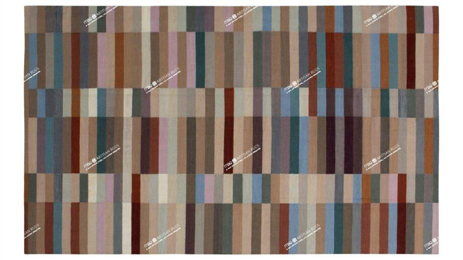 Mae Artisan Rugs | Contemporary The 32 Kelim 1461 2.00 x 3.00 Rectangular 2m X 3m Mae Rugs Template Top View