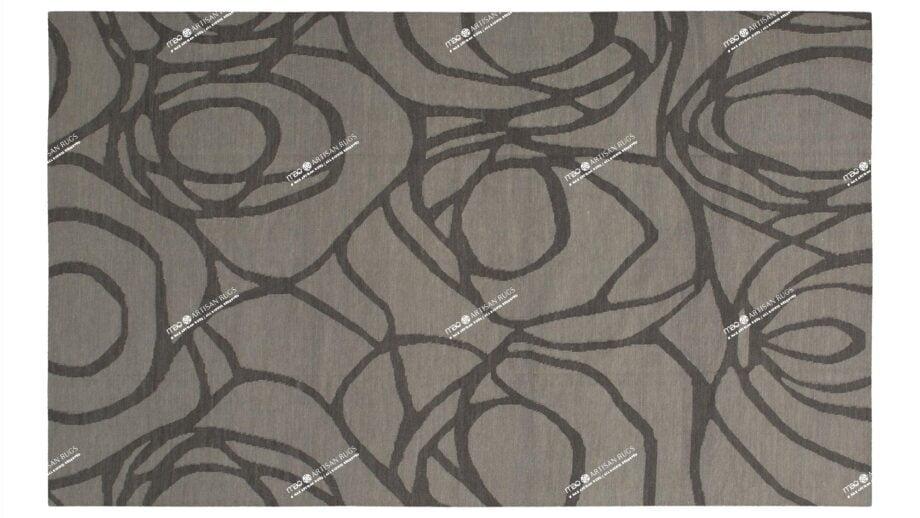Mae Artisan Rugs | Contemporary The Artichoke Kelim 1557 2.0 x 3.0 Rectangular 2m X 3m Mae Rugs Template Top View