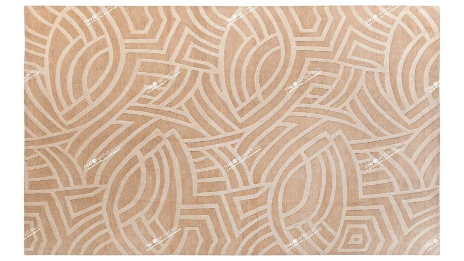 Mae Artisan Rugs | Contemporary The Fish Tibetan 1067 1.81 x 2.90 Rectangular 2m X 3m Mae Rugs Template Top View