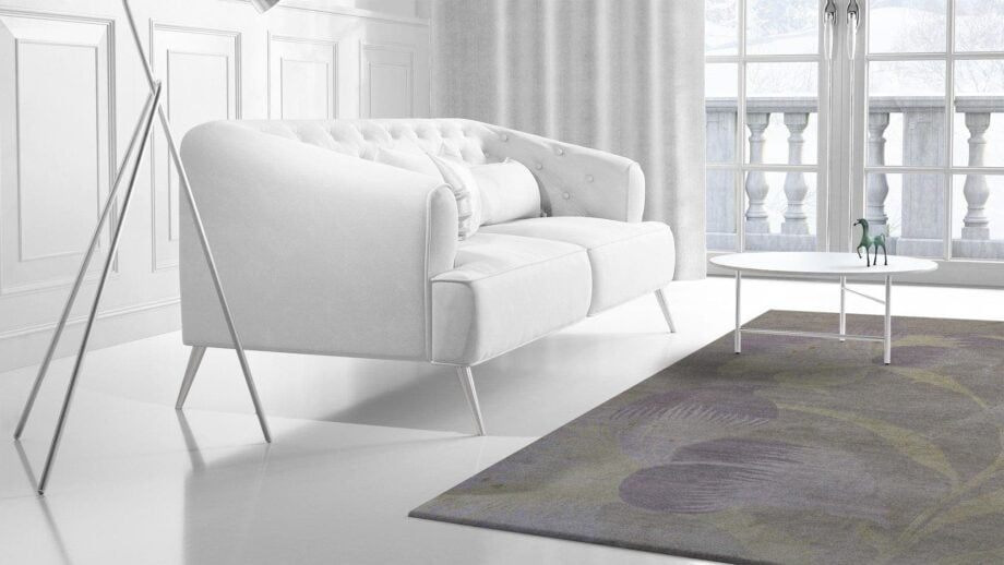 Mae Artisan Rugs | Contemporary The Lily Tibetan 1068 1.82 x 2.81 Rectangular 2m X 3m Mae Rugs Template Side View 2