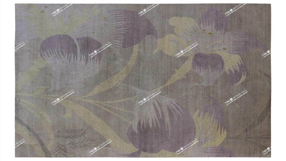 Mae Artisan Rugs | Contemporary The Lily Tibetan 1068 1.82 x 2.81 Rectangular 2m X 3m Mae Rugs Template Top View