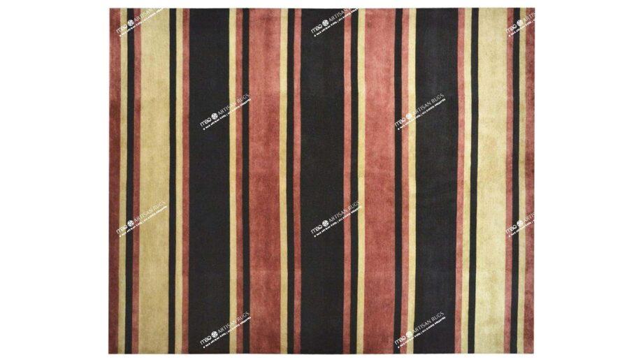 Mae Artisan Rugs | Contemporary himalaya stripe C1278 3.03 x 2.51m 3 x 2.50 Rectangular 2.5m X 3m Mae Rugs Template Top View