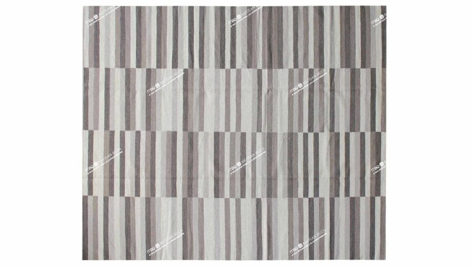 Mae Artisan Rugs | Contemprary The 3 Candies Kelim 1626 3 x 2.50 Rectangular 2.5m X 3m Mae Rugs Template Top View
