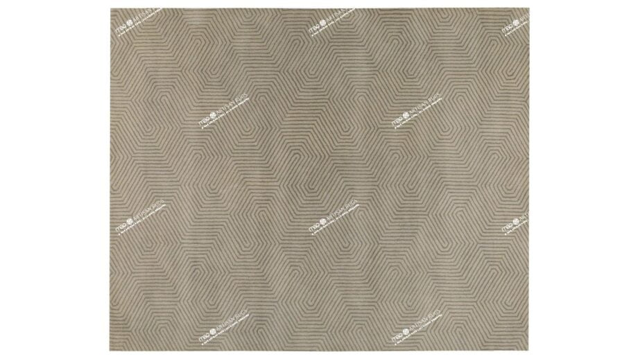 Mae Artisan Rugs | Flute 09 Lite Green 1749 300250 2.5m X 3m Mae Rugs Template Top View