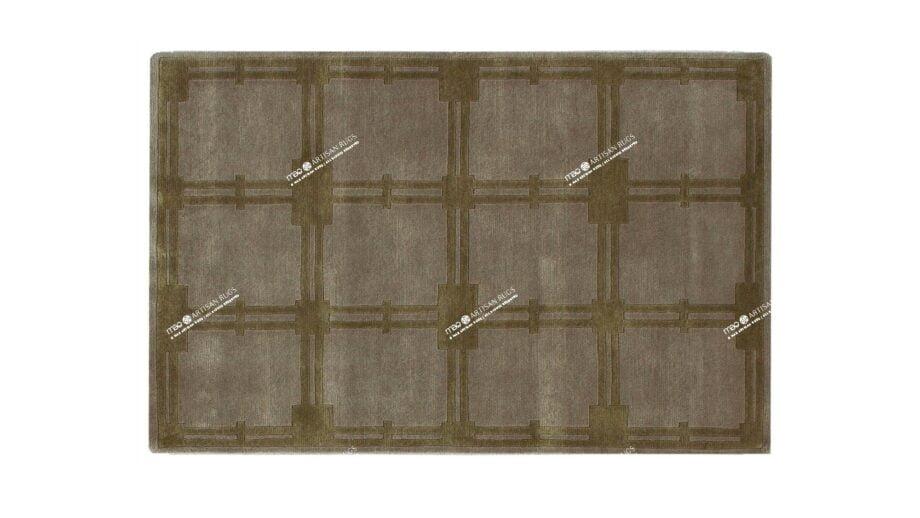 Mae Artisan Rugs | Himalaya CPCH squares 60496 1.47 x 1.00m 1m X 1.5m Mae Rugs Template Top View