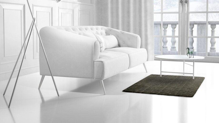 Mae Artisan Rugs | Himalaya Green 1127 100150 1m X 1.5m Mae Rugs Template Side View 2