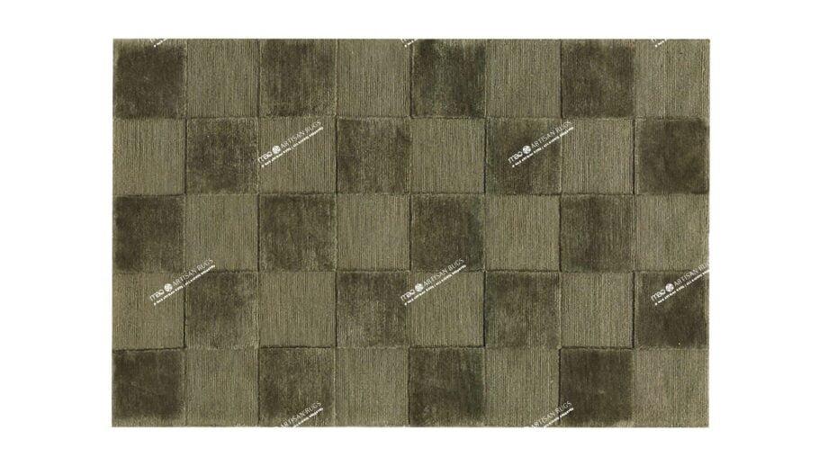 Mae Artisan Rugs | Himlaya Box 60492 100x150 1m X 1.5m Mae Rugs Template Top View