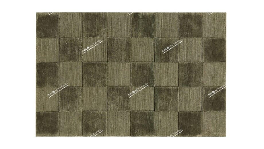 Mae Artisan Rugs | Himlaya Box 60492 100x150 1m X 1.5m Mae Rugs Template Top View