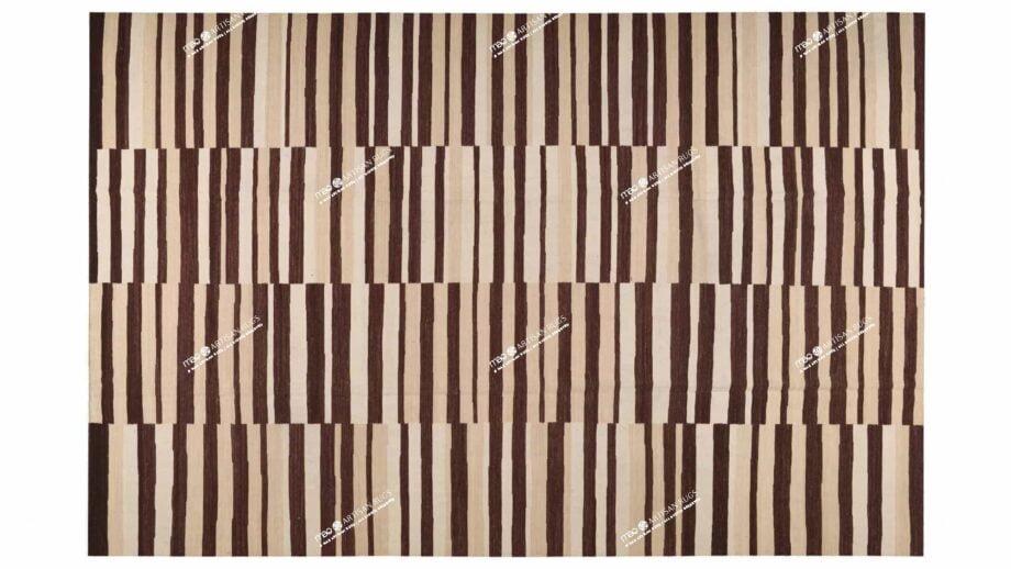 Mae Artisan Rugs | Kelim 4 lines 1115 350 x 250 2m X 3m Mae Rugs Template Top View
