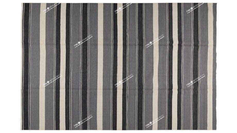 Mae Artisan Rugs | Kelim Beach Blue 1350 3.50 x 2.50m 2.5m X 3.5m Mae Rugs Template Top View