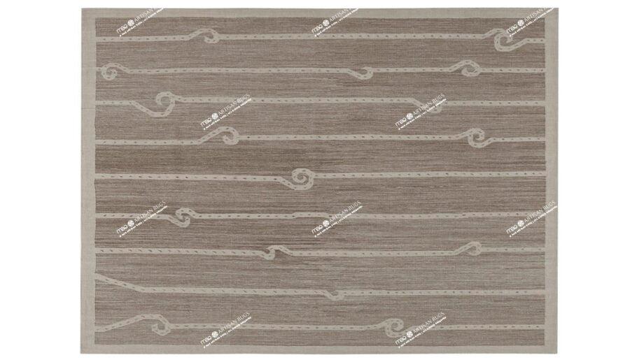 Mae Artisan Rugs   Kelim Chain Beige 11437 2.00 x 1.50m 1.5m X 2m Mae Rugs Template Top View