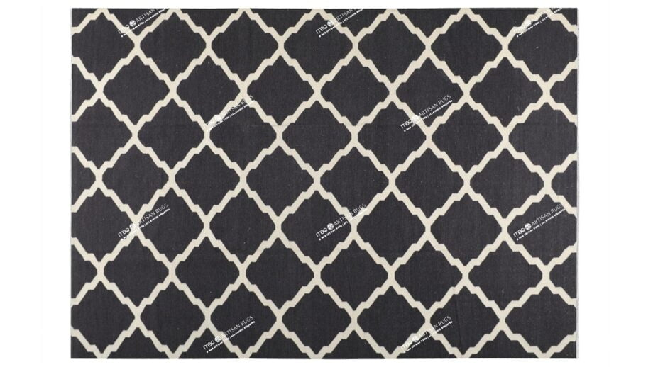 Mae Artisan Rugs | Kelim Diamond Window 1502 3.50 x 2.50m 2.5m X 3.5m Mae Rugs Template Top View