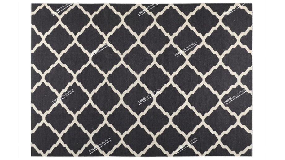 Mae Artisan Rugs | Kelim Diamond Window 1502 3.50 x 2.50m 2.5m X 3.5m Mae Rugs Template Top View