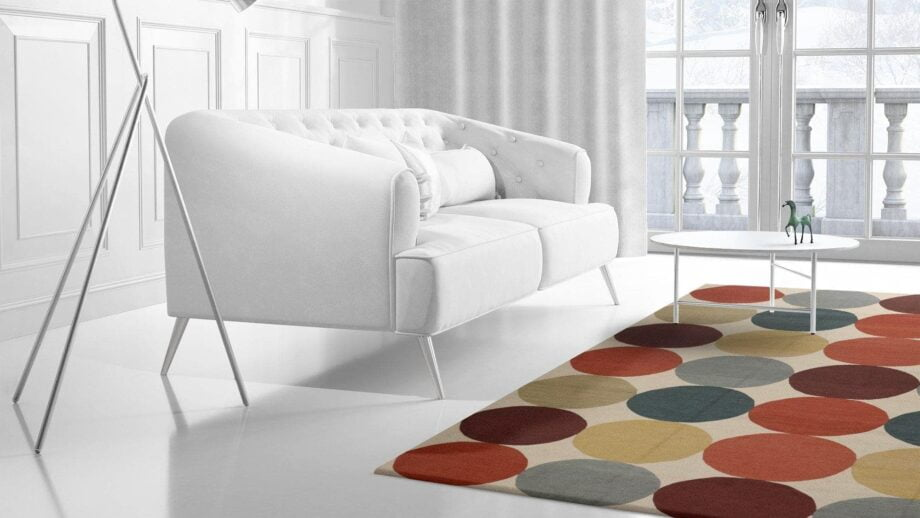 Mae Artisan Rugs | Kelim Smarties Old MP stock 11102 4.00 x 3.00m 3m X 4m Mae Rugs Template Side View 2