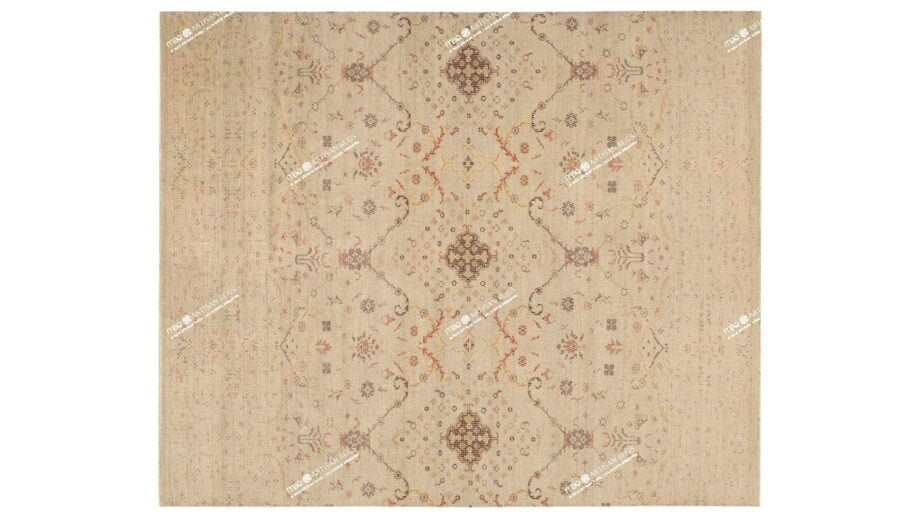 Mae Artisan Rugs | NN Ivory Vintage 300250 Rectangular 2.5m X 3m Mae Rugs Template Top View