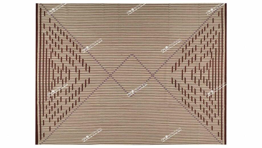Mae Artisan Rugs | NN Kelim Design 125 3m X 4m Rectangular 4m X 3m Mae Rugs Template Top View