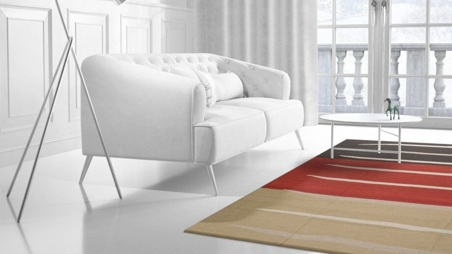 Mae Artisan Rugs | NN kelim old MP stock stripes 4.00 x 3.00m Mae Rugs Template Side View 2 Recovered