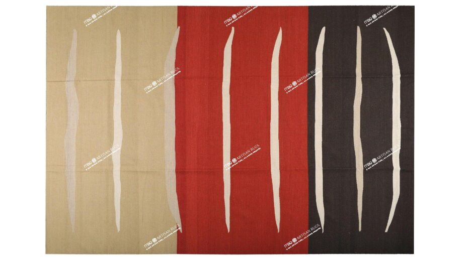 Mae Artisan Rugs | NN kelim old MP stock stripes 4.00 x 3.00m Mae Rugs Template Top View