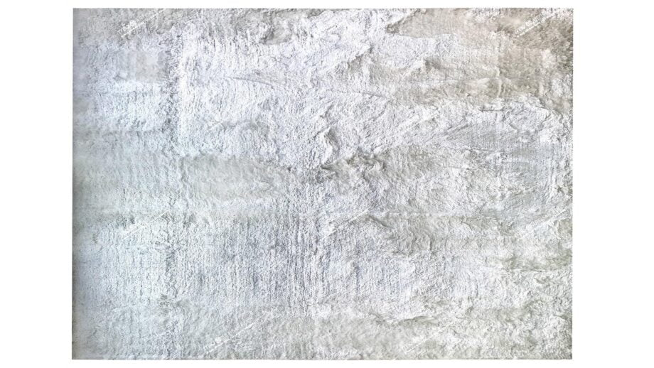 Mae Artisan Rugs | rayon shaggy white D90094 4.00 x 3.00m Mae Rugs Template Top View